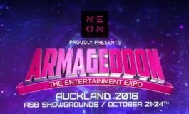 Armageddon Expo Auckland 2016, TV Promo