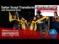 Sailor Scout Transformation Challenge – Armageddon Expo 2016 Wellington