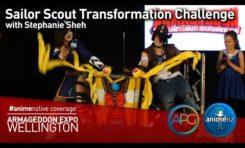 Sailor Scout Transformation Challenge – Armageddon Expo 2016 Wellington