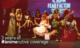 3 Years of New Zealand Convention Coverage - APG Media/Anime New Zealand